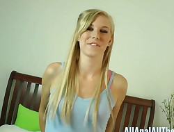 Congenital Nubile Ella Woods Enjoys Getting Ass Gobbled at AllAnal