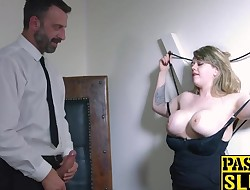Madison Stewart',s cum crawing satified by a dominative stud